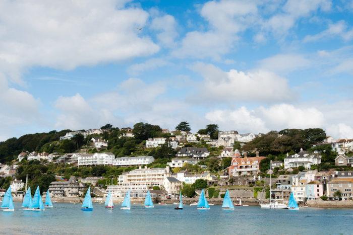 Blue Sails at Salcombe