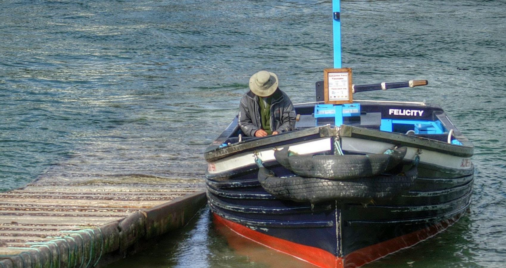 Portlemouth Ferry in Salcombe