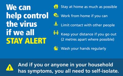 Latest Coronavirus Message